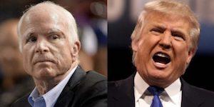 McCain and Trump